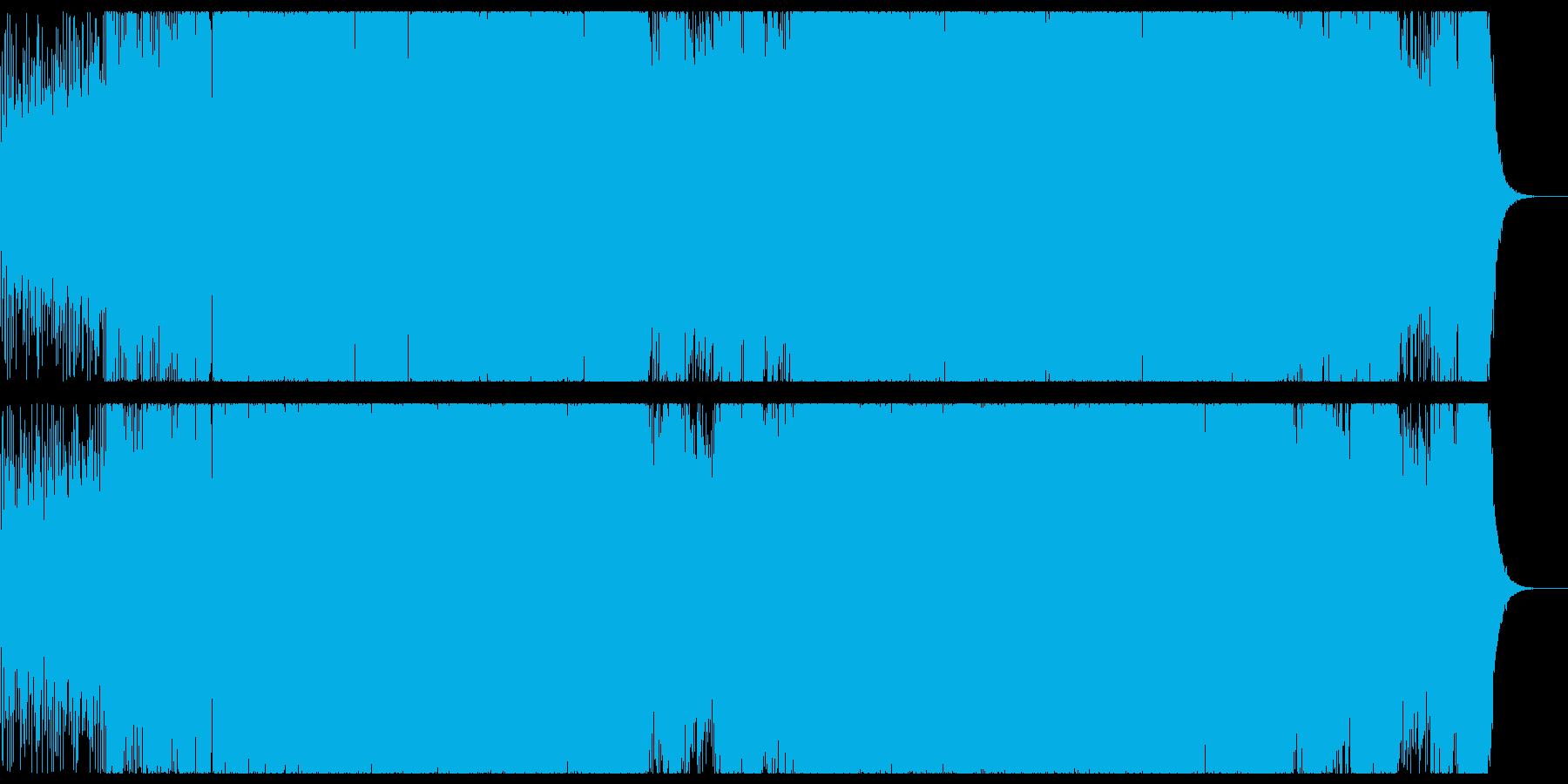 切なく透明感の強いプログレッシブハウス。の再生済みの波形