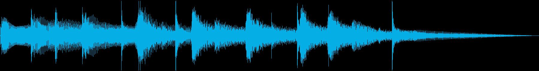 中近東系音源の再生済みの波形