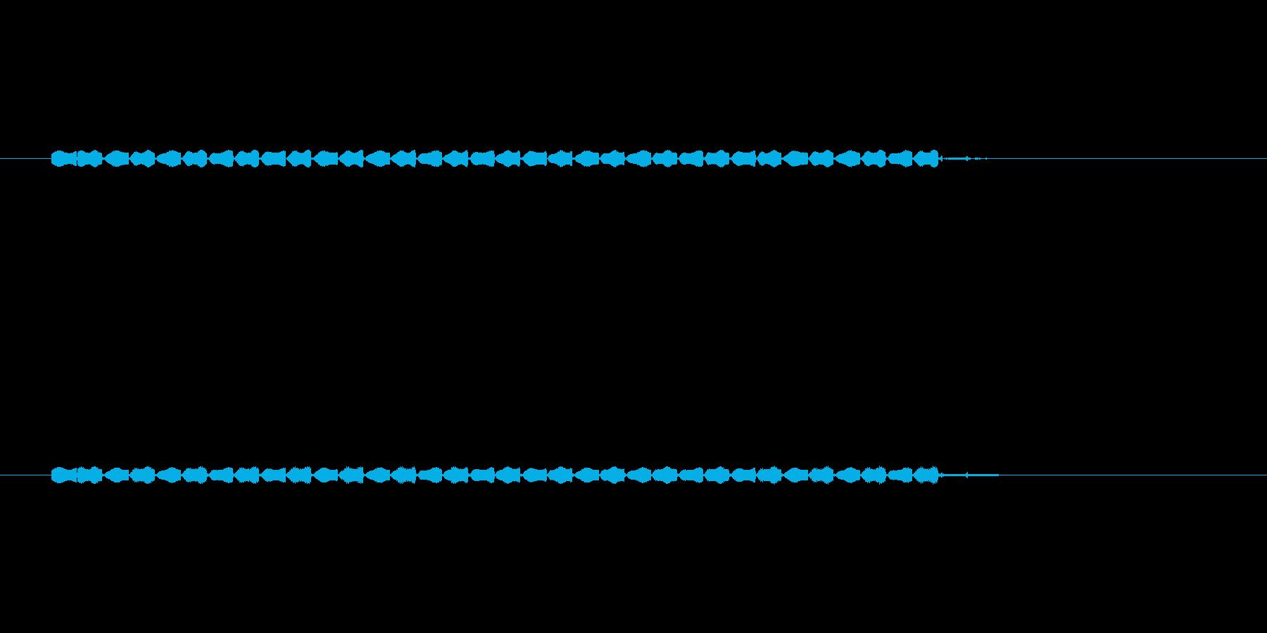 【サイバー12-1】の再生済みの波形