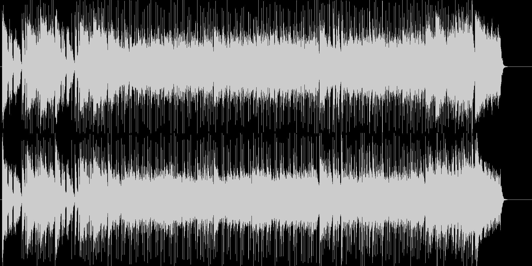 オープニング向けのわくわくポップスの未再生の波形