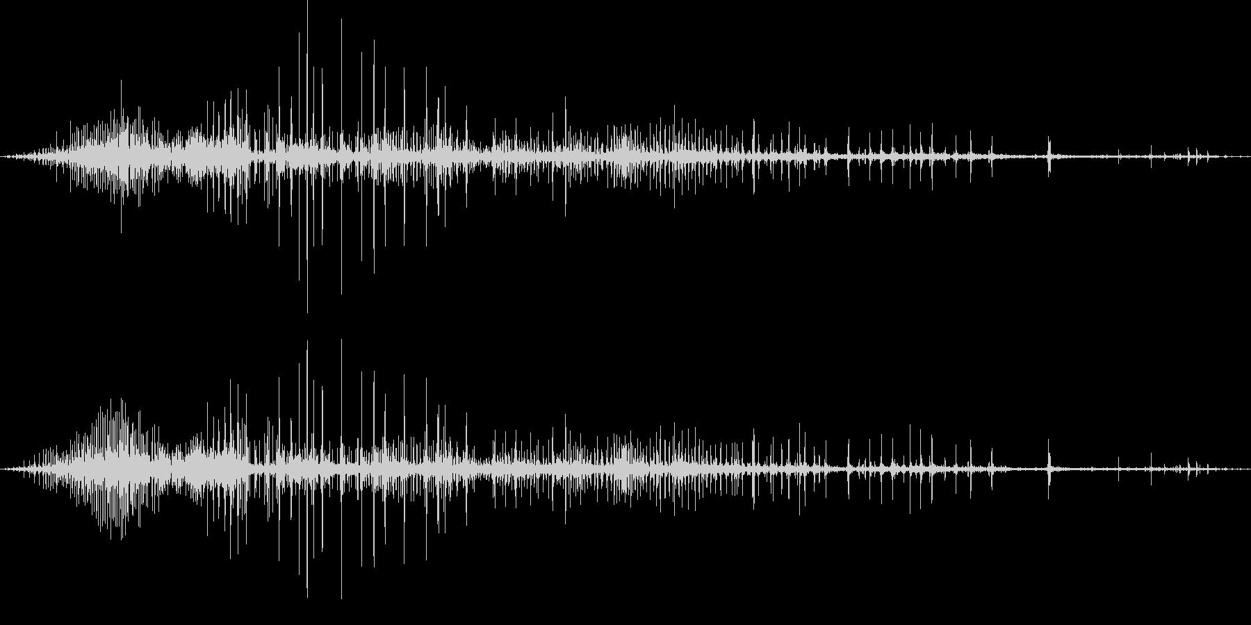 ギリギリ締め付けるような音2(短め)の未再生の波形