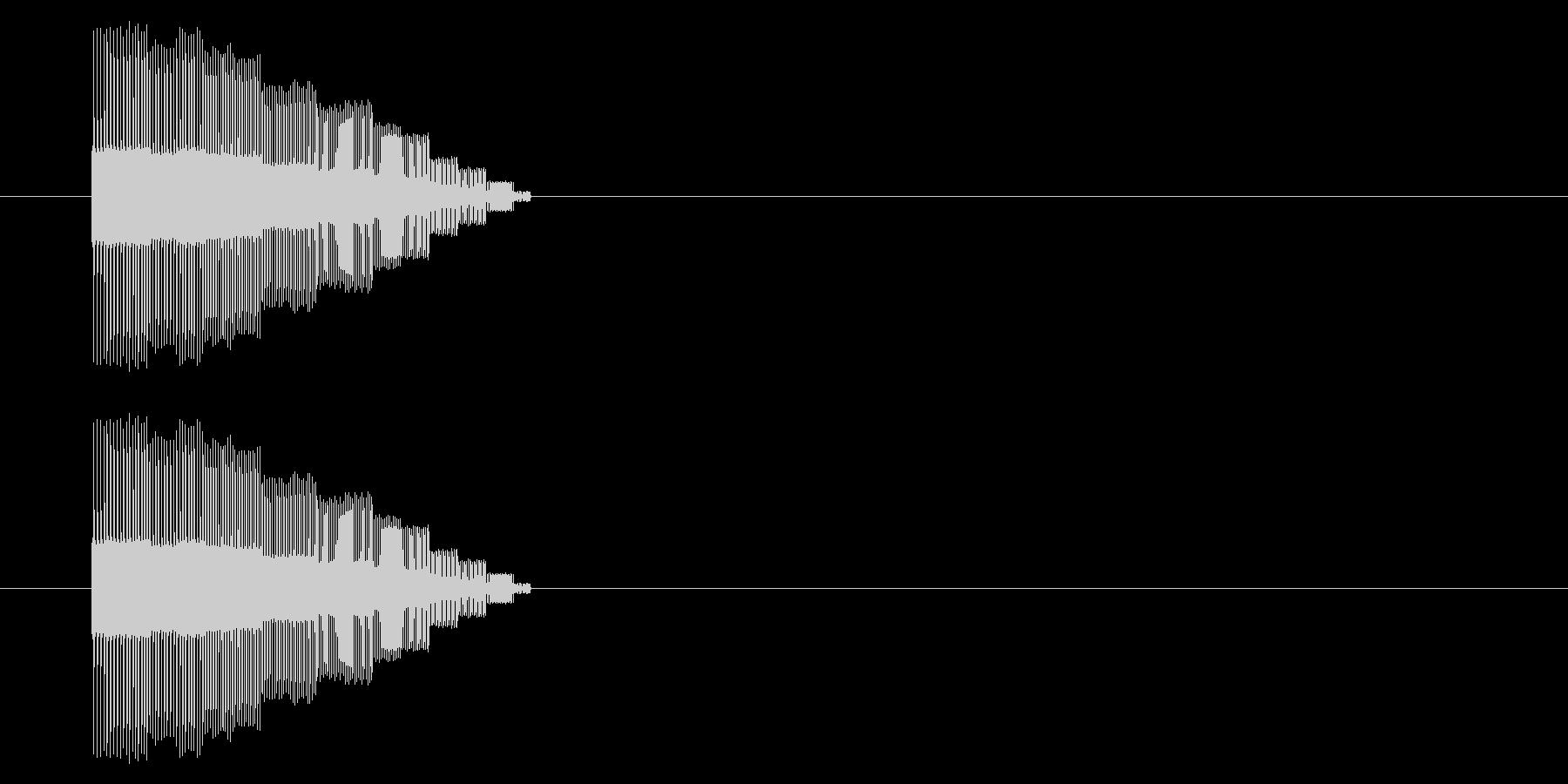 【NES 汎用01-06(ピッチ)】の未再生の波形