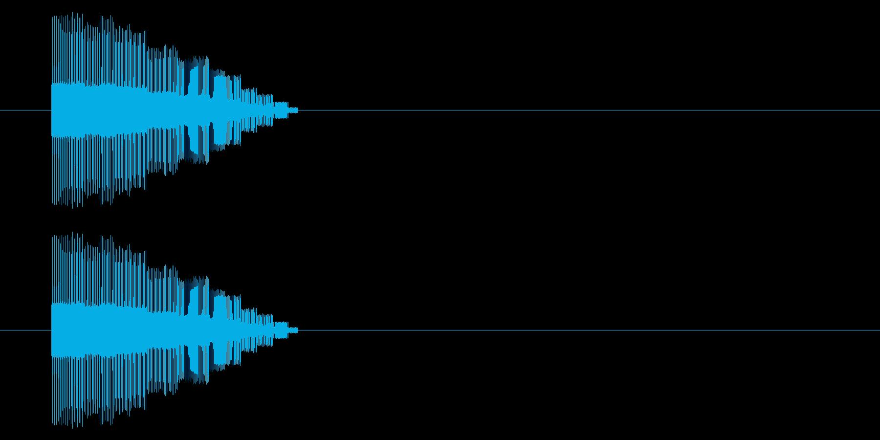 【NES 汎用01-06(ピッチ)】の再生済みの波形