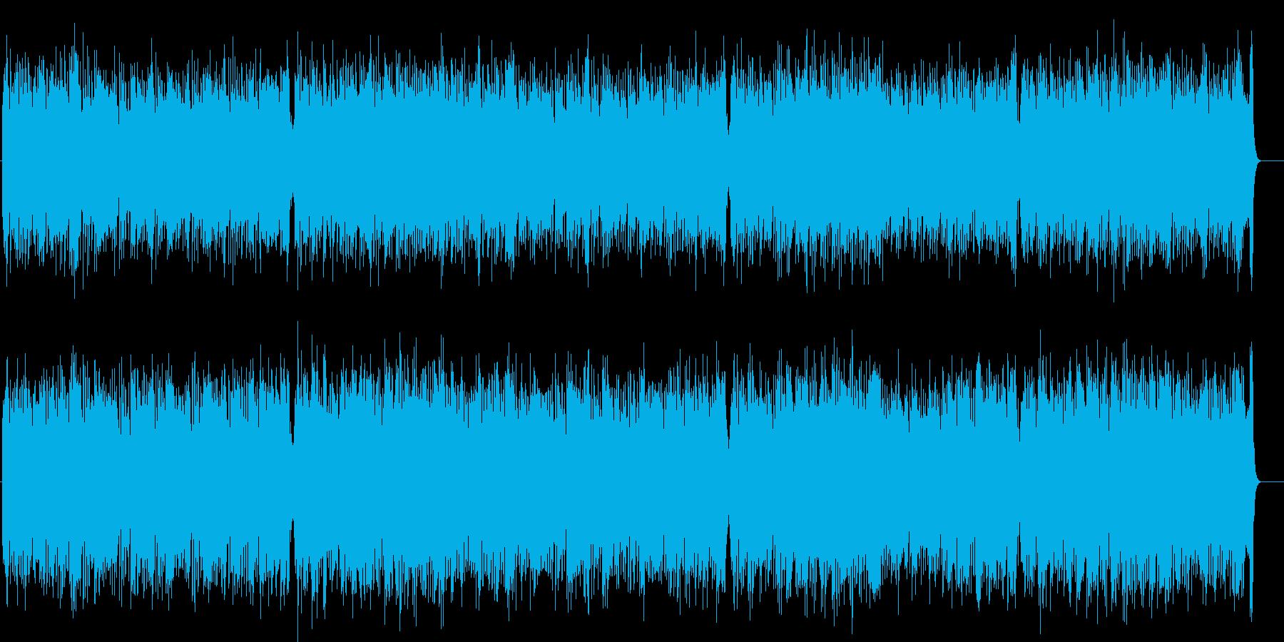 メロの手応えも確かなあっぱれポップスの再生済みの波形
