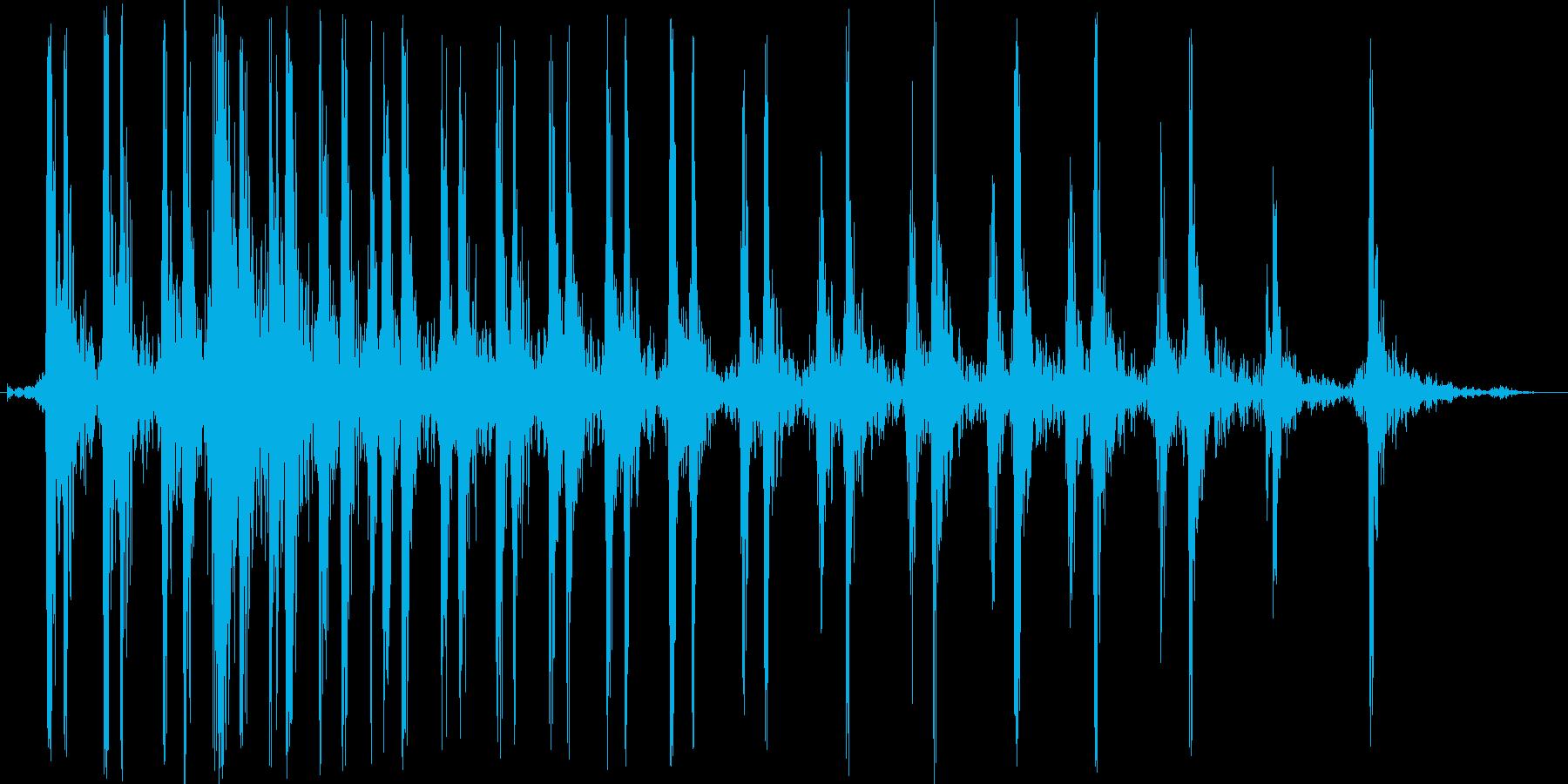 グォンドド。バイクのエンジンをかける音の再生済みの波形