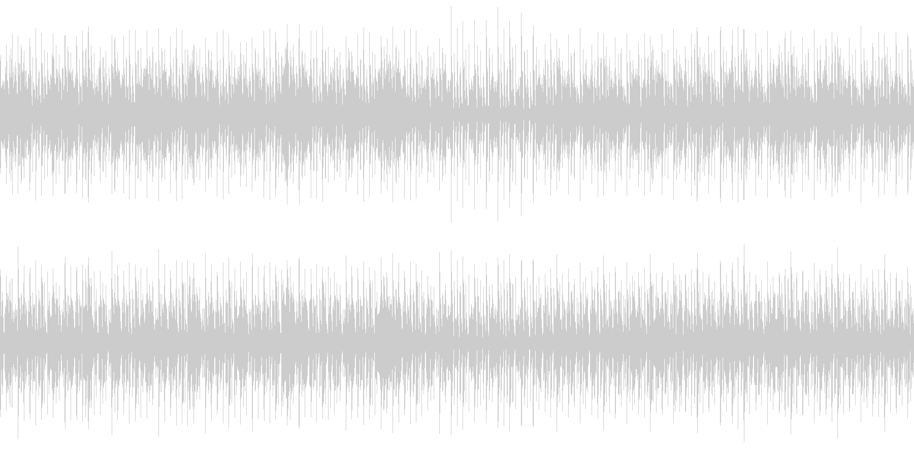 DJライブBGMの未再生の波形
