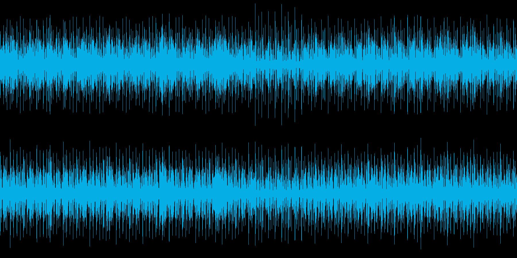 DJライブBGMの再生済みの波形