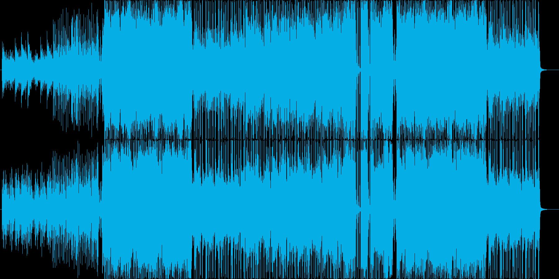 ストリングスメイン、和テイストのジャズの再生済みの波形
