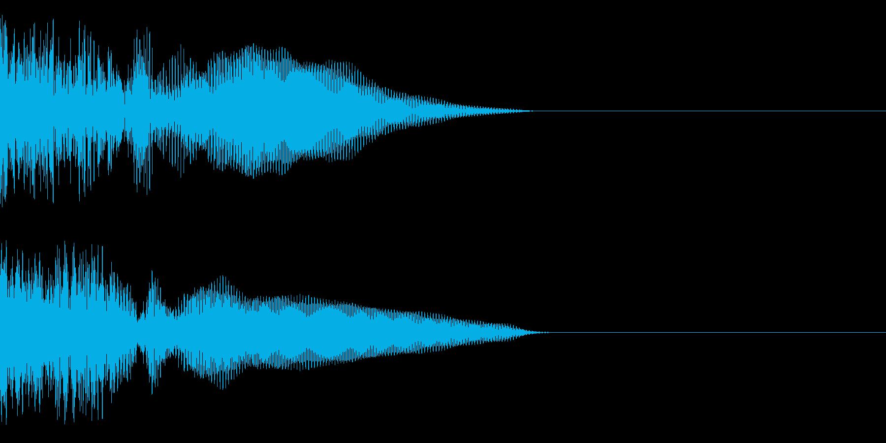 テロップ、予告系の再生済みの波形