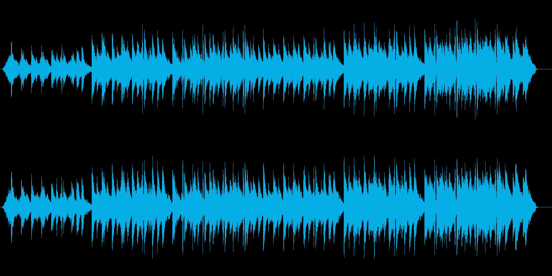 スローイージー穏やかニューエイジバラードの再生済みの波形