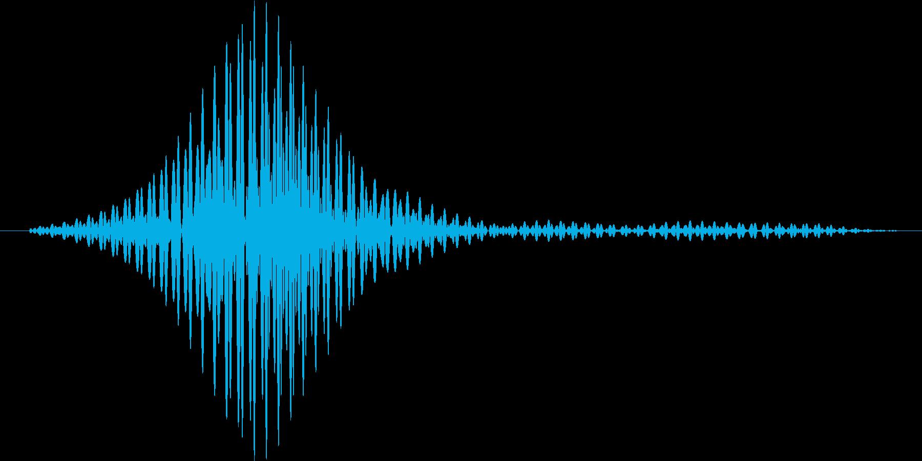レーザーブレード風1の再生済みの波形