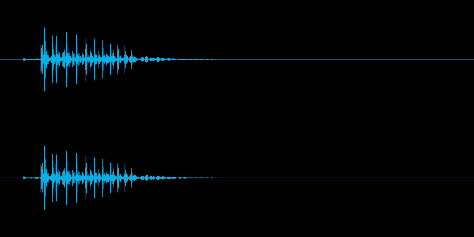 ギィッ (きしむような物音)の再生済みの波形
