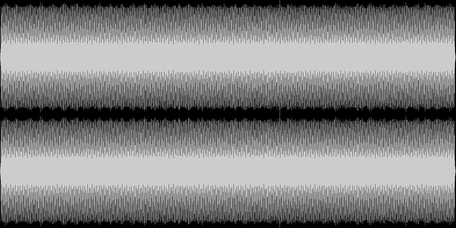 SFチックな背景音(レトロゲーム風)の未再生の波形