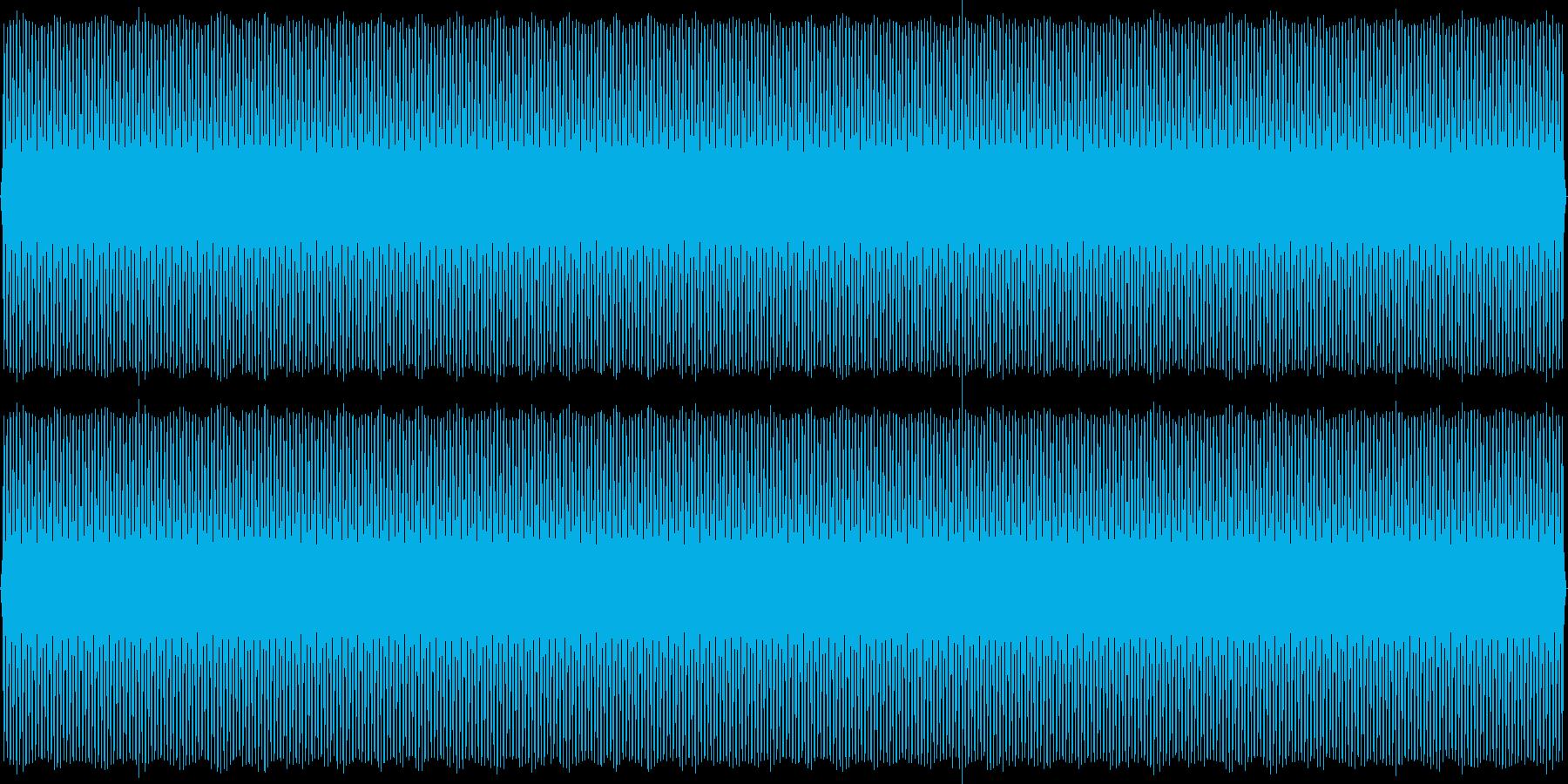 SFチックな背景音(レトロゲーム風)の再生済みの波形