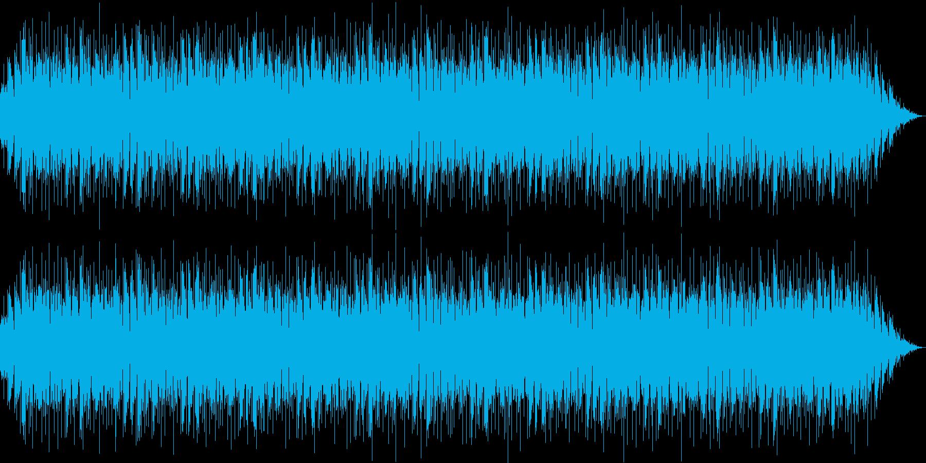 追跡、ニュースのBGMの再生済みの波形