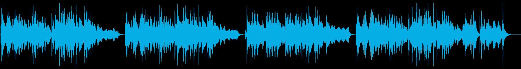 しっとりムーディーなピアノソロの再生済みの波形