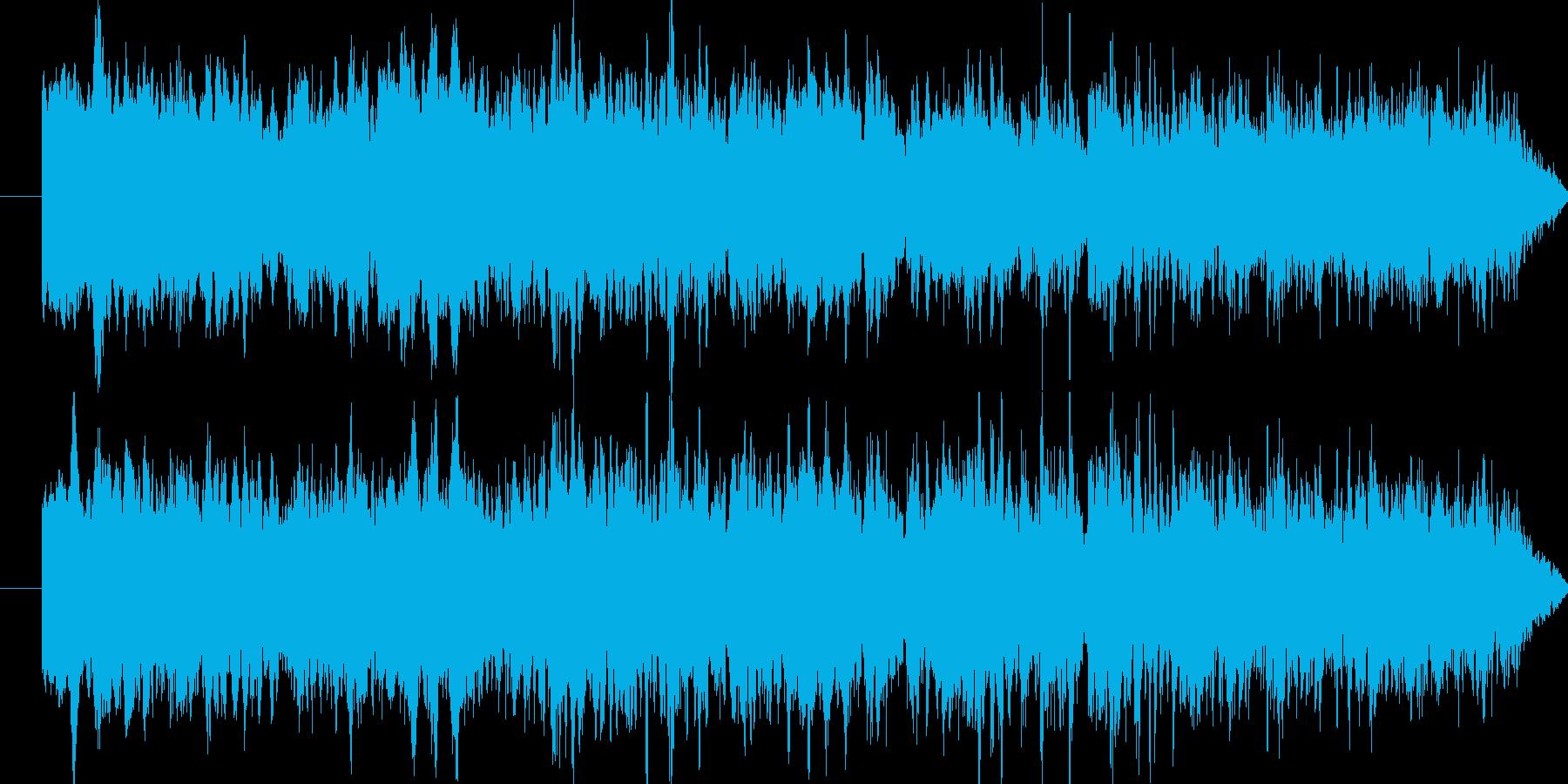 救急車のサイレン(イタリアにて収録)の再生済みの波形