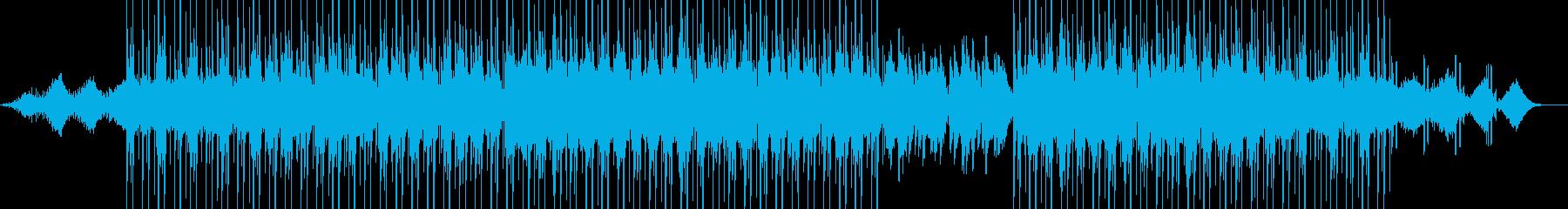 静寂、クールダウンな場面向けの再生済みの波形