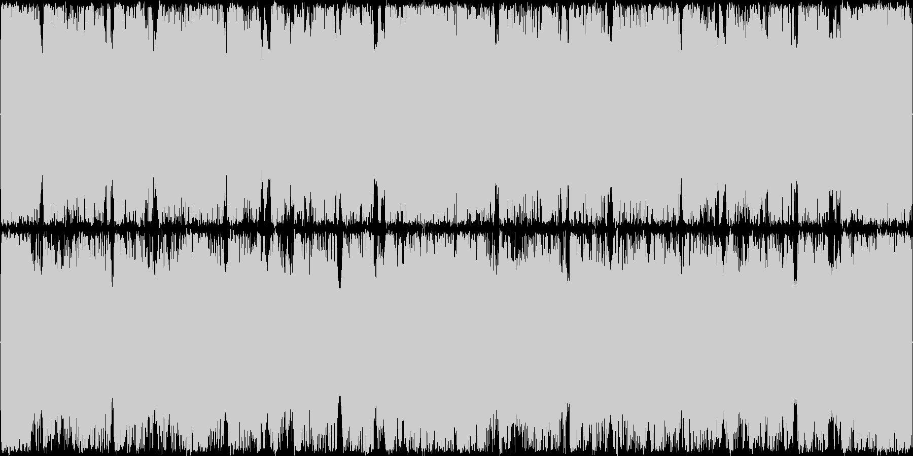 険しい山を演出したギター系の曲<短いl…の未再生の波形