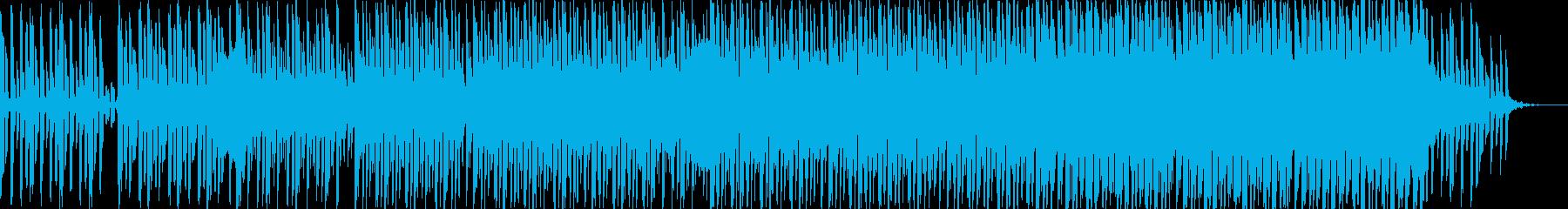 浮遊なハウスミュージックの再生済みの波形