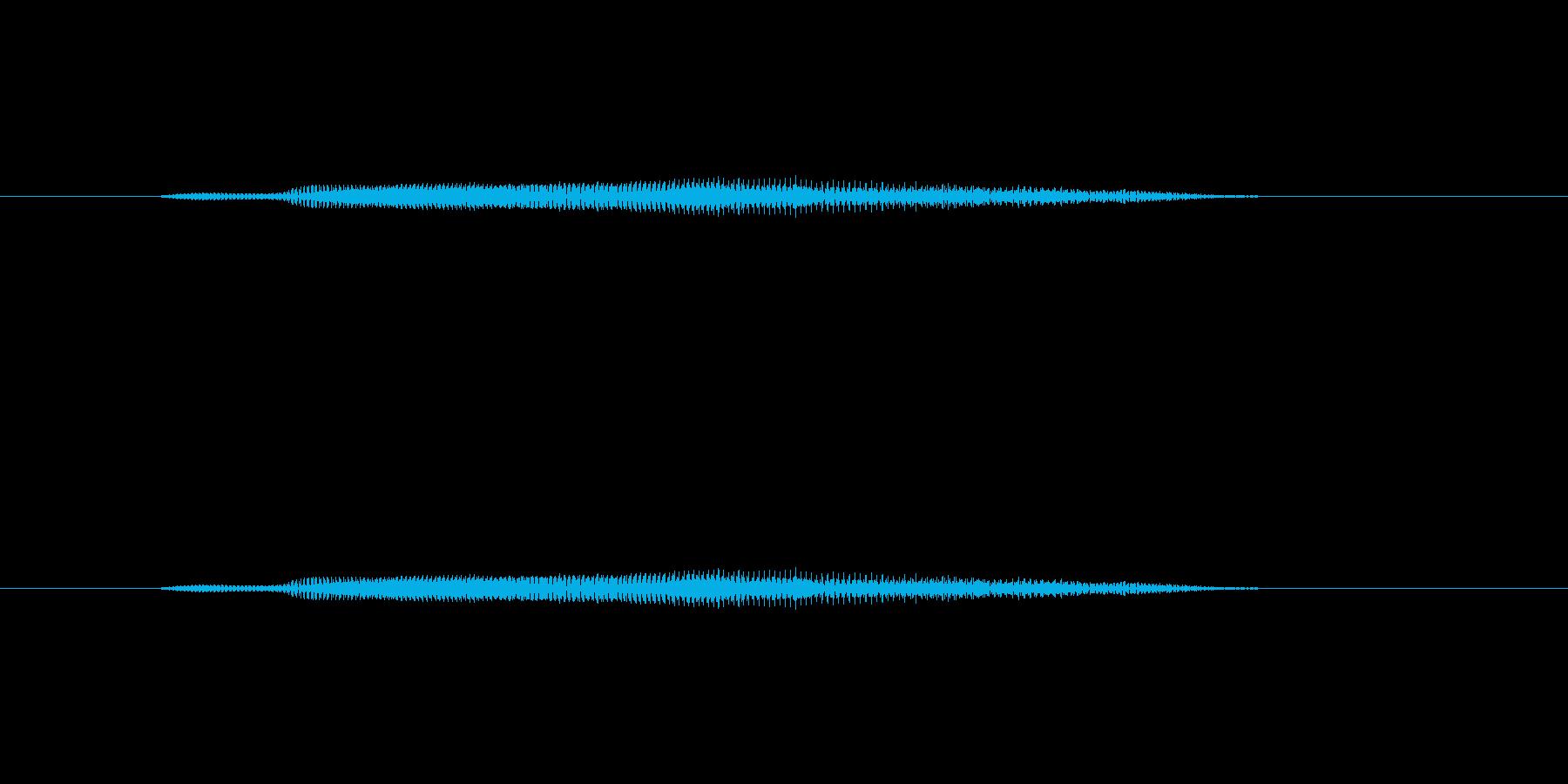 ニャー_猫声-19の再生済みの波形
