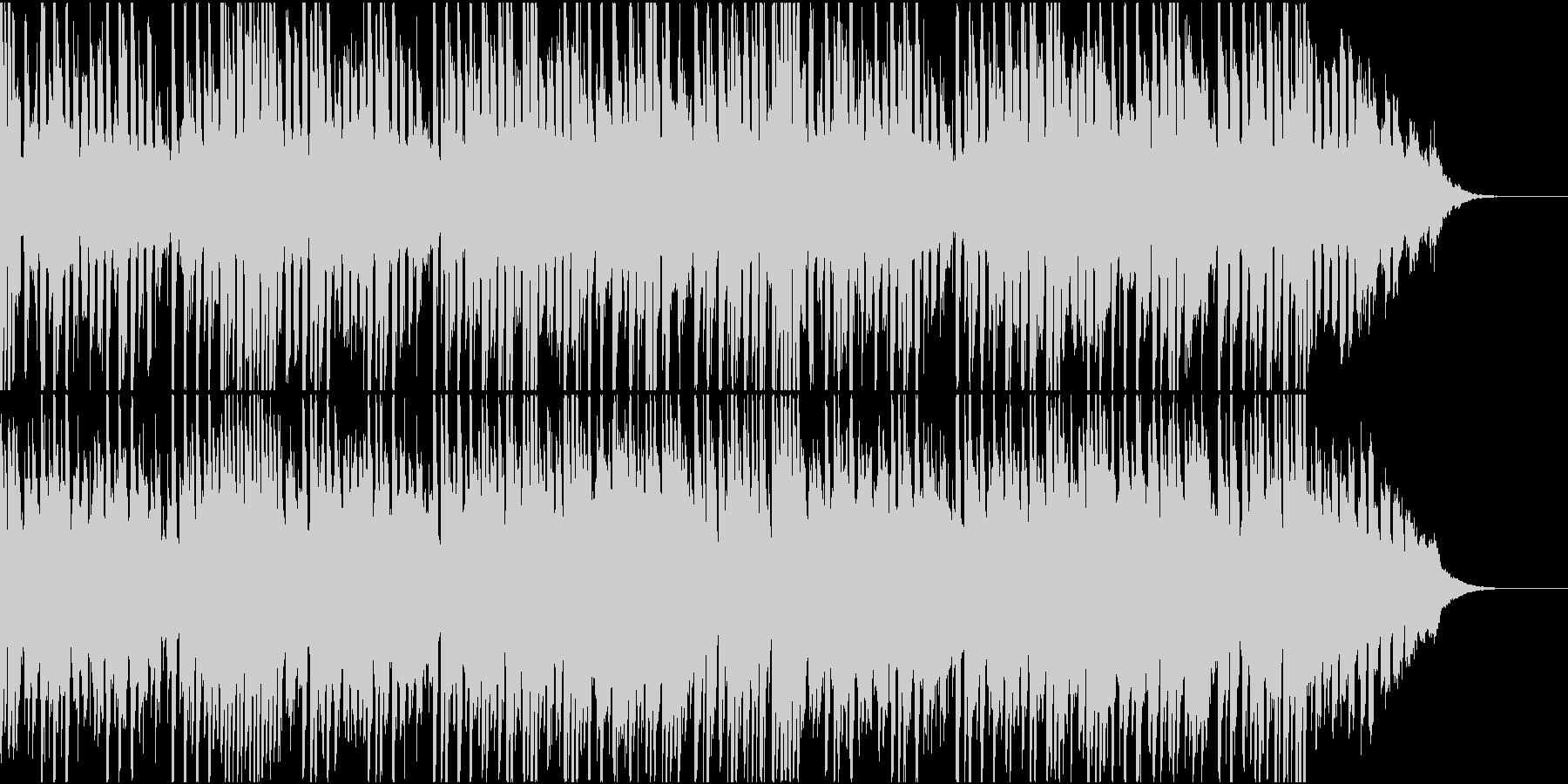ニュース、CMなどの映像BGMにの未再生の波形