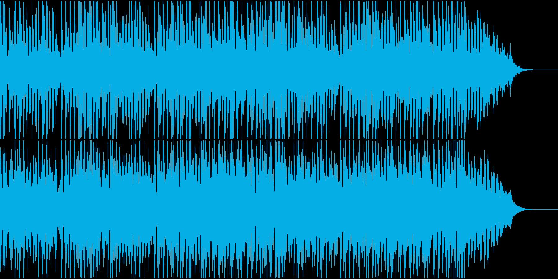 ニュース、CMなどの映像BGMにの再生済みの波形