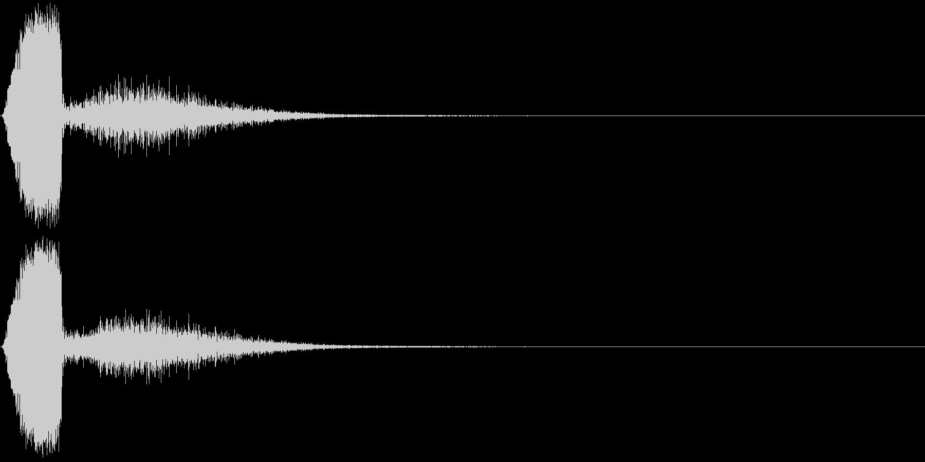 KAKUGE 格闘ゲーム戦闘音 69の未再生の波形