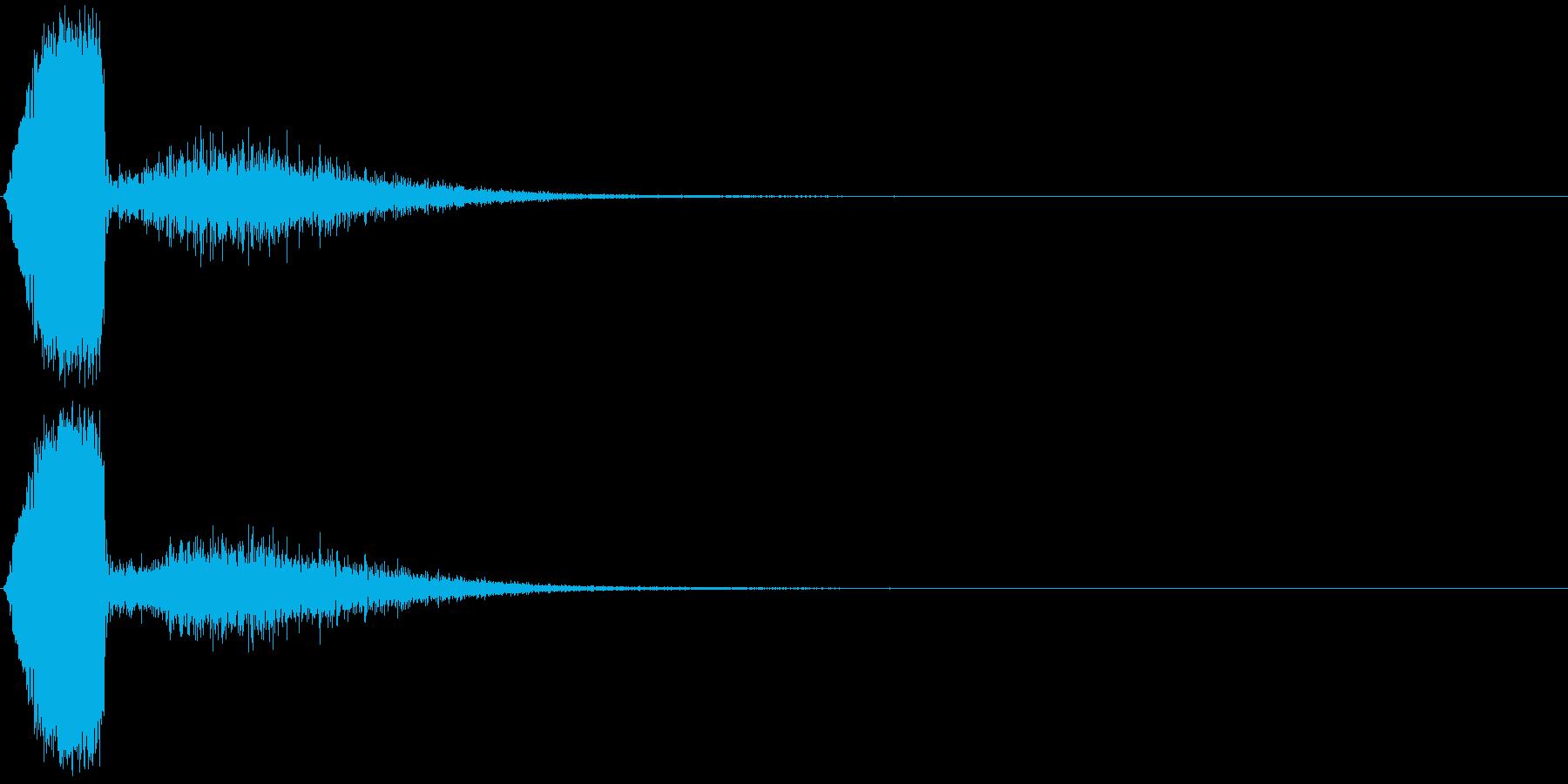 KAKUGE 格闘ゲーム戦闘音 69の再生済みの波形