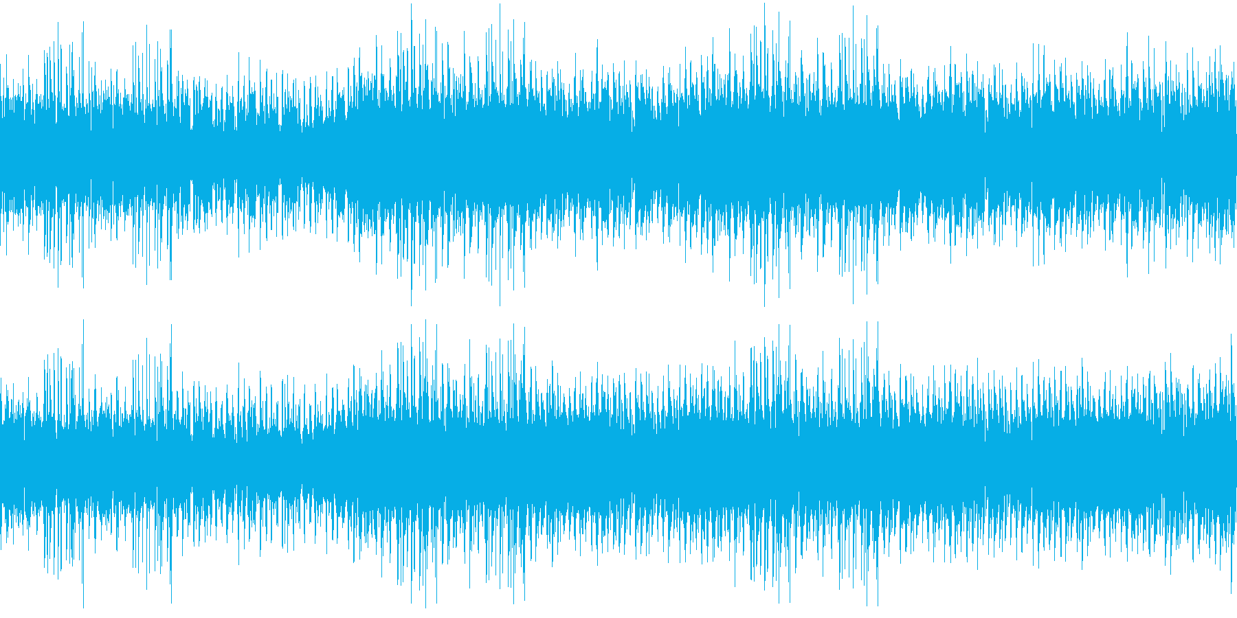 144bpm、E-Maj、クリーンギターの再生済みの波形