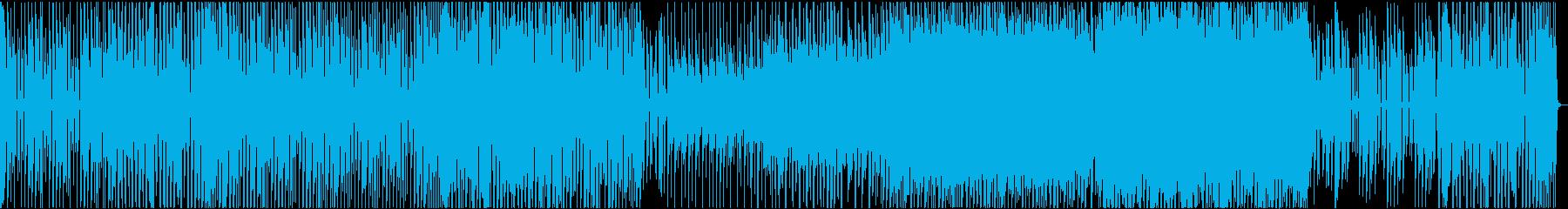ありふれた日常のような楽曲の再生済みの波形
