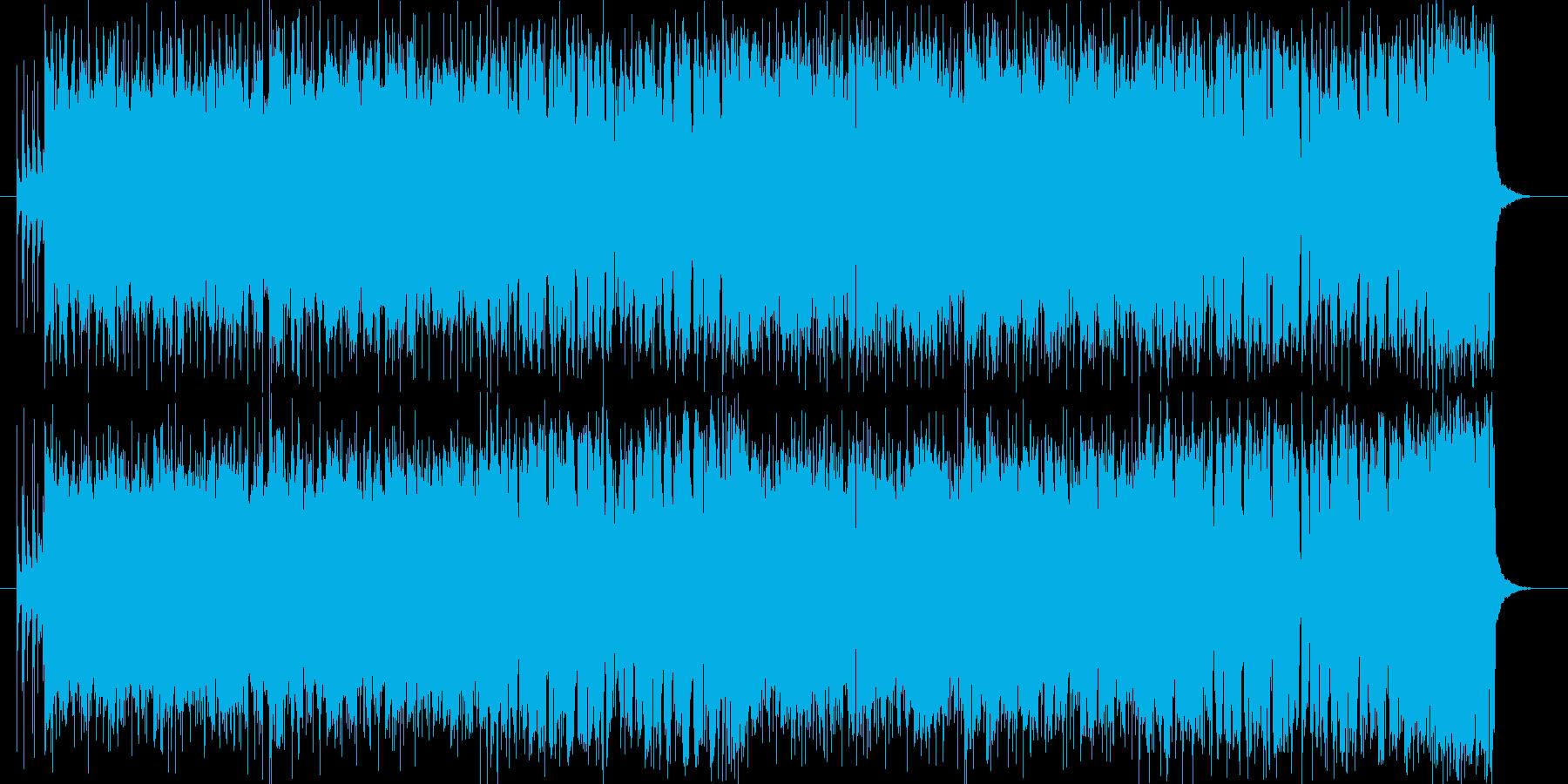 オープニング 軽快 大空  前進 躍動の再生済みの波形