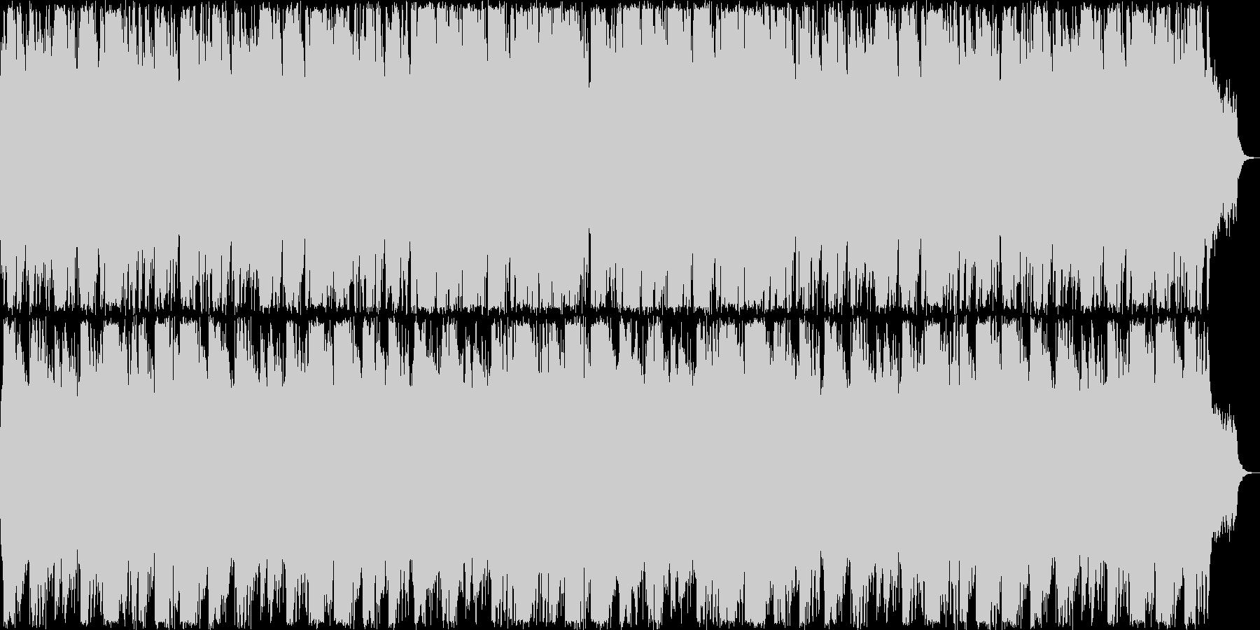 幻想的なピアノクラシックの未再生の波形
