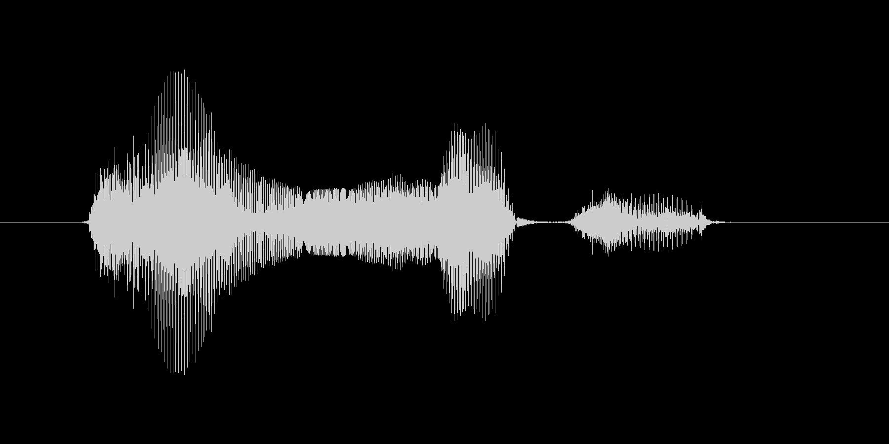 12月(12月・十二月)の未再生の波形