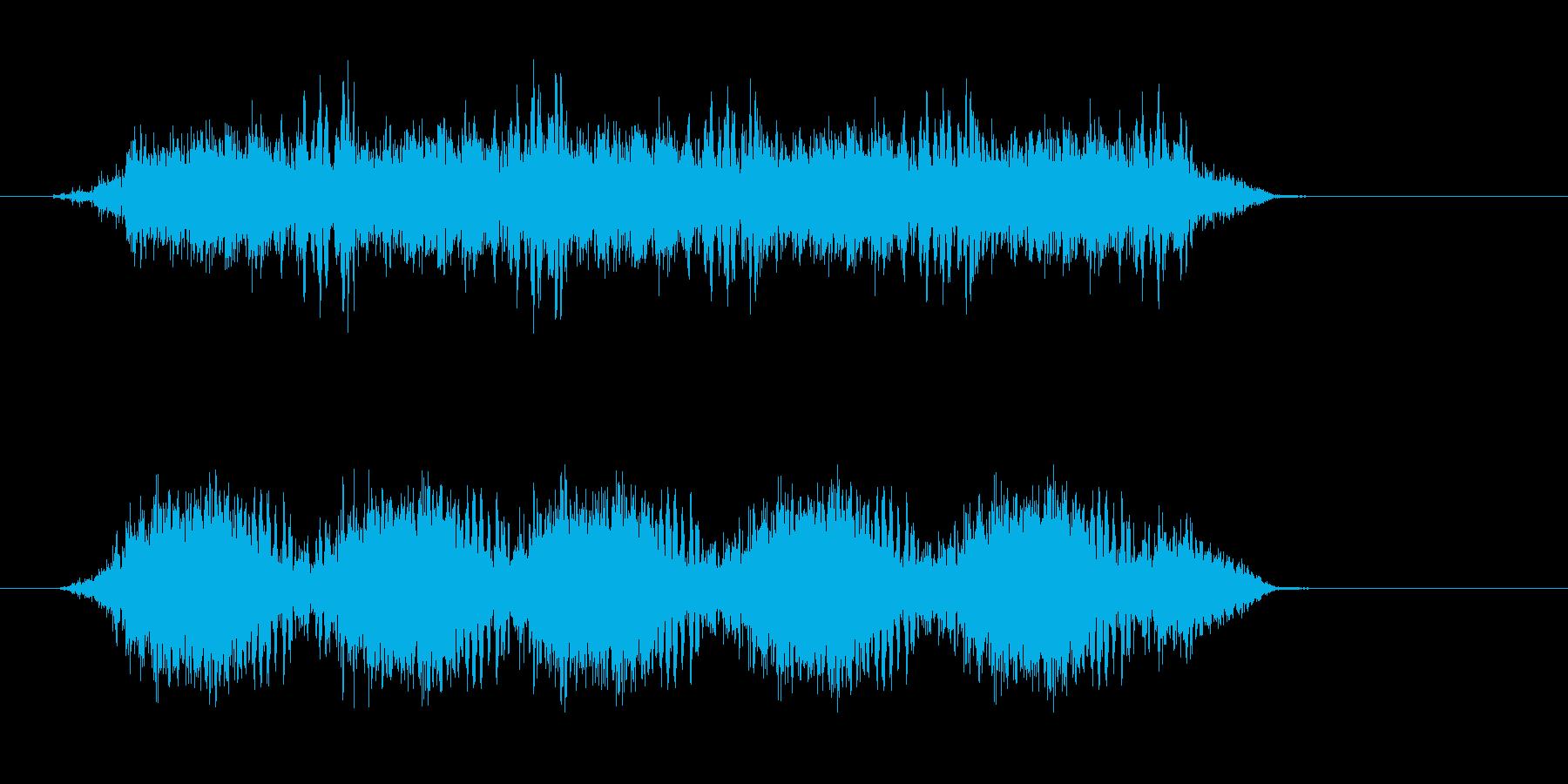 SF系うねりの再生済みの波形