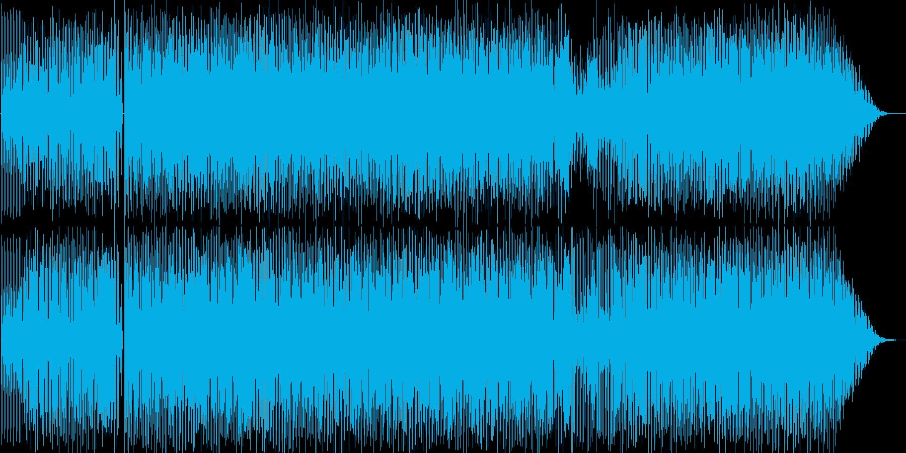 インストハウスの再生済みの波形