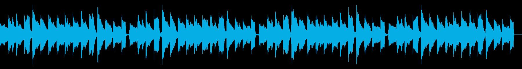 アコギとエレピでほっこりと少し切なくの再生済みの波形