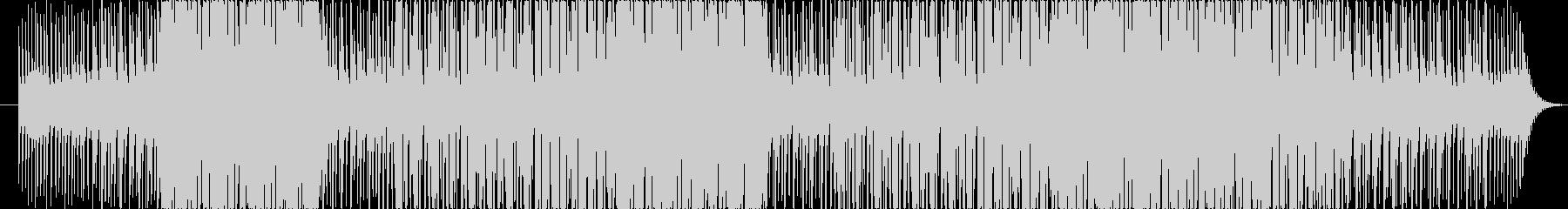 リバーブ強目シンセサイザーとピアノの旋律の未再生の波形