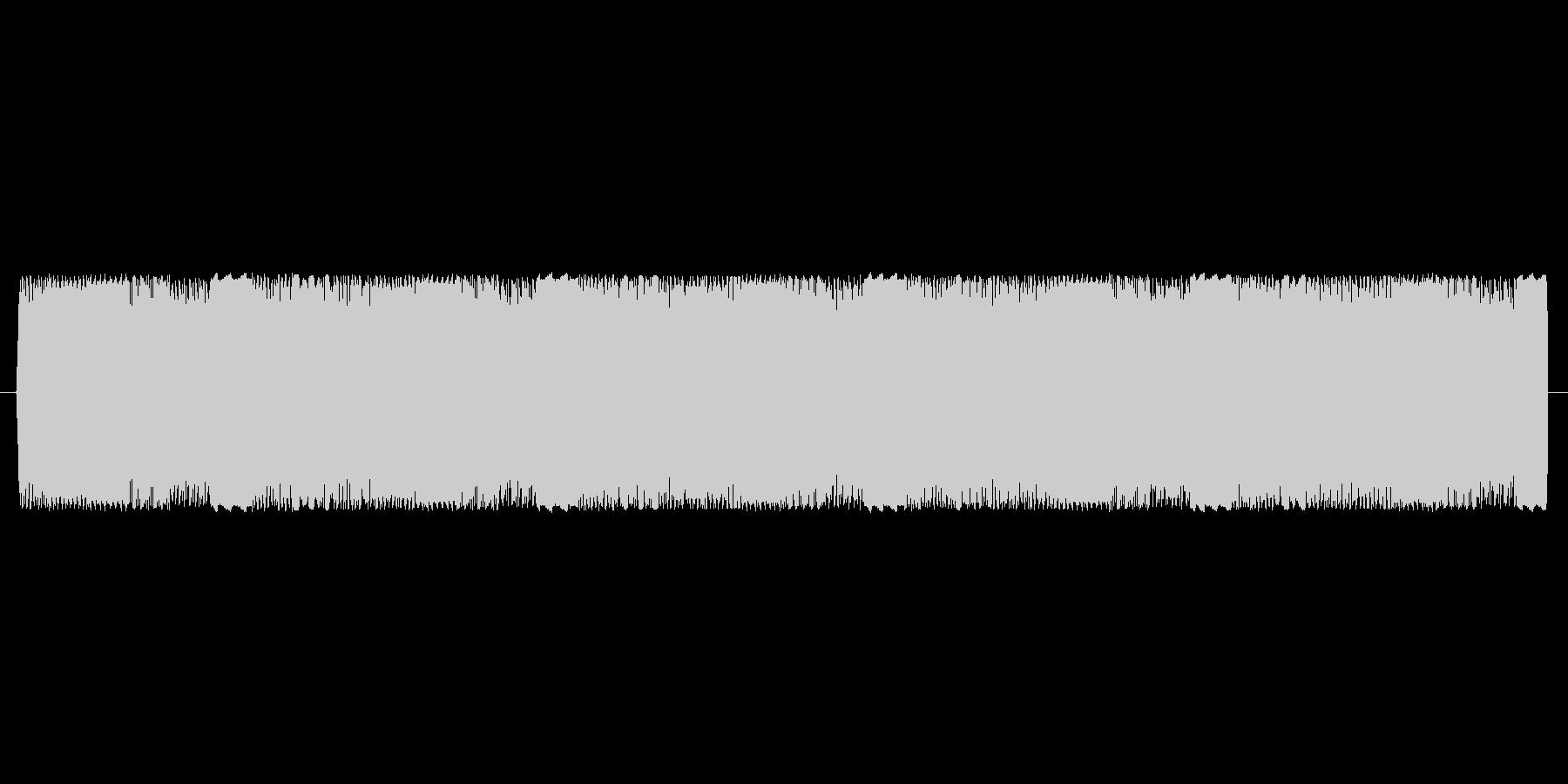 【電子音、アナログ】アラーム音の未再生の波形