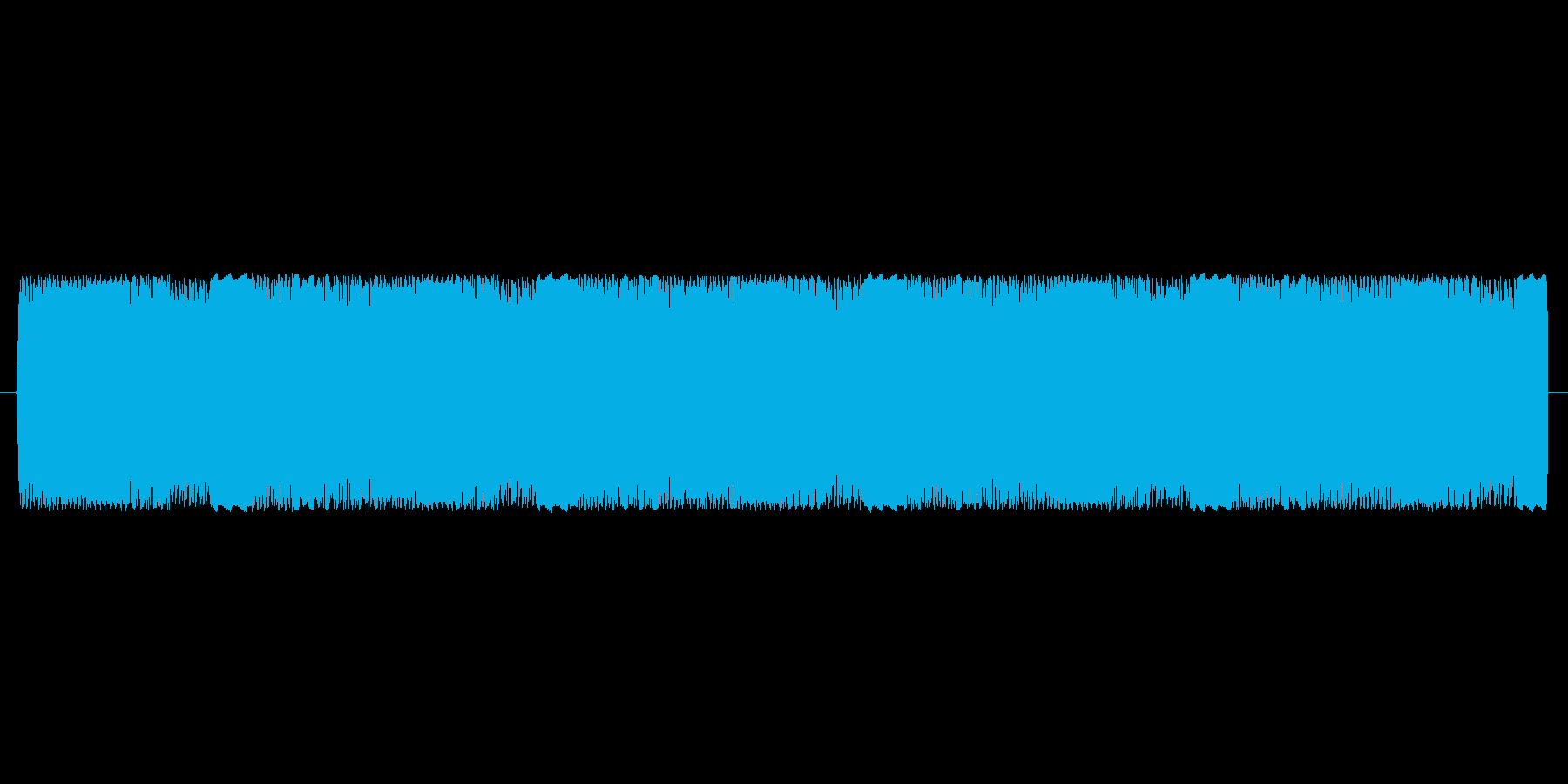 【電子音、アナログ】アラーム音の再生済みの波形