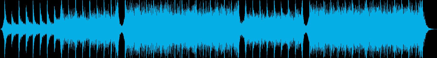 エピック系オーケストラトレイラーの再生済みの波形