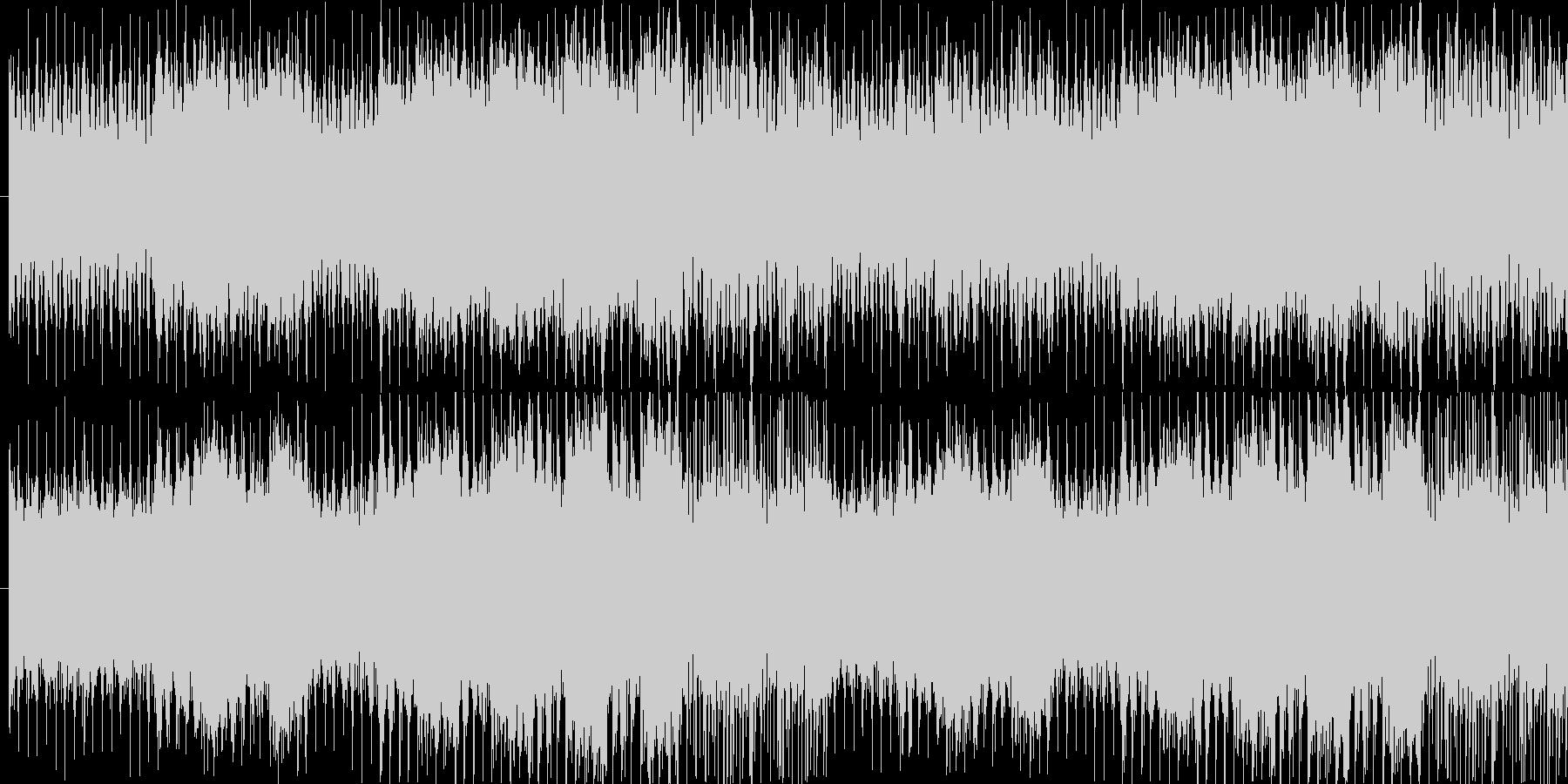 パワフルで神秘的なゲーム音楽の未再生の波形