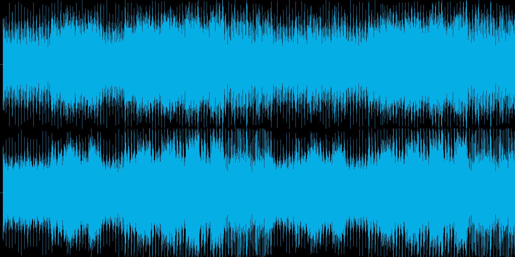 パワフルで神秘的なゲーム音楽の再生済みの波形