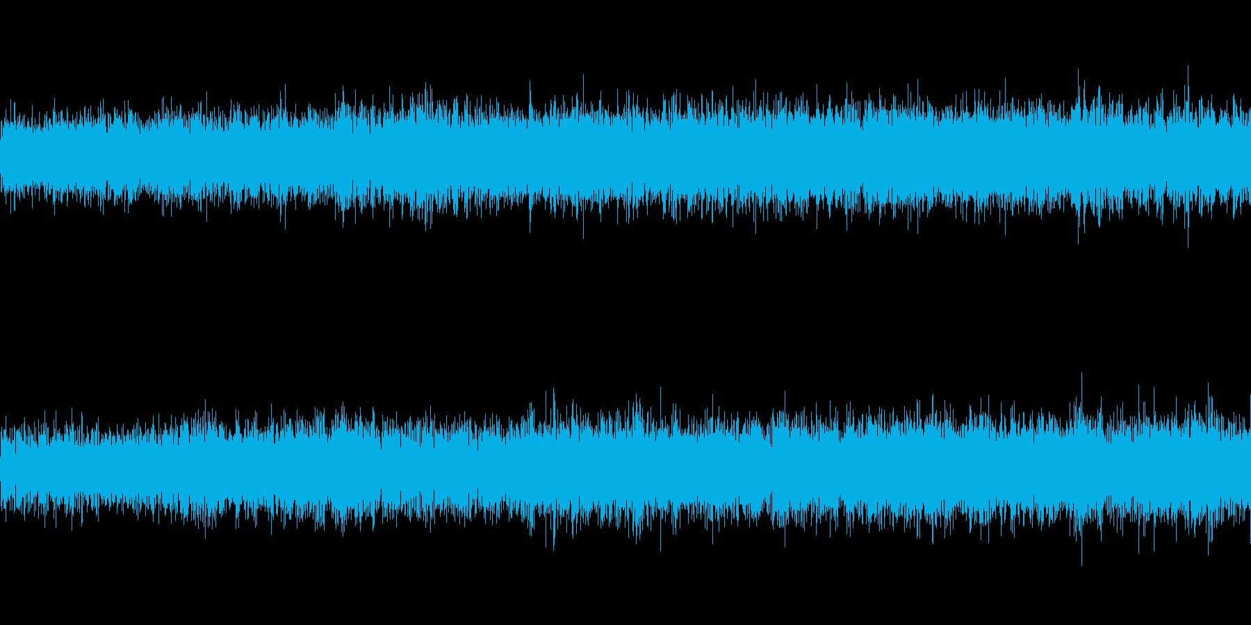エスカレーターの再生済みの波形