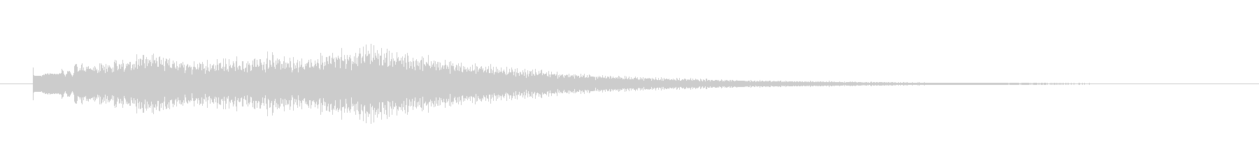 トゥルリントゥルリントゥルリンの未再生の波形
