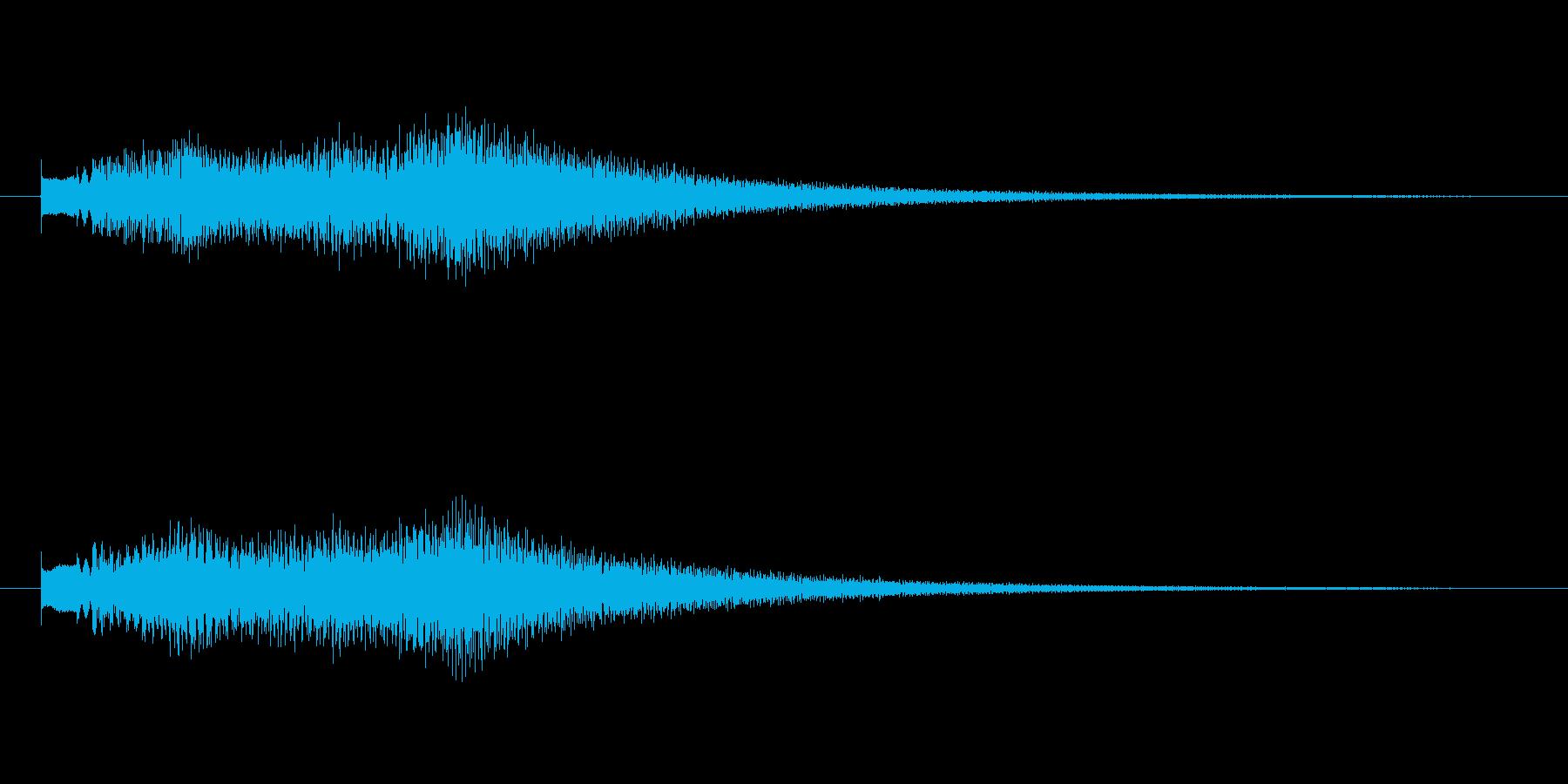 トゥルリントゥルリントゥルリンの再生済みの波形