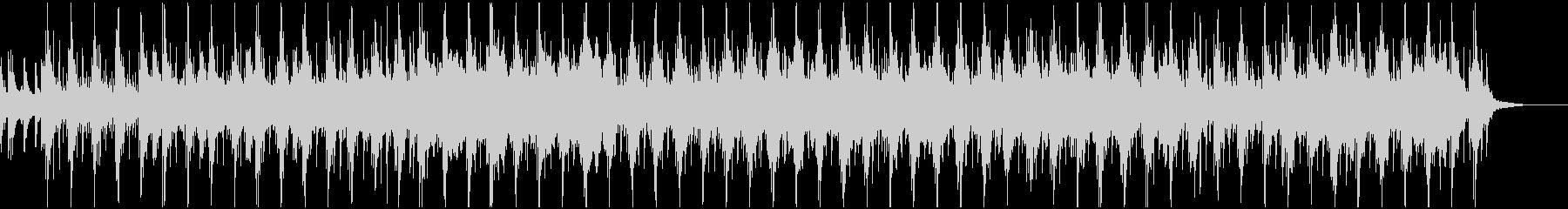 民族楽器を使用したアイリッシュ風の曲の未再生の波形