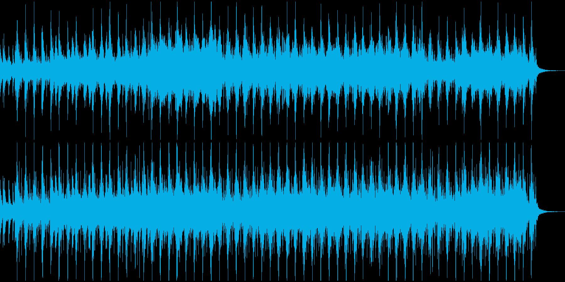 民族楽器を使用したアイリッシュ風の曲の再生済みの波形
