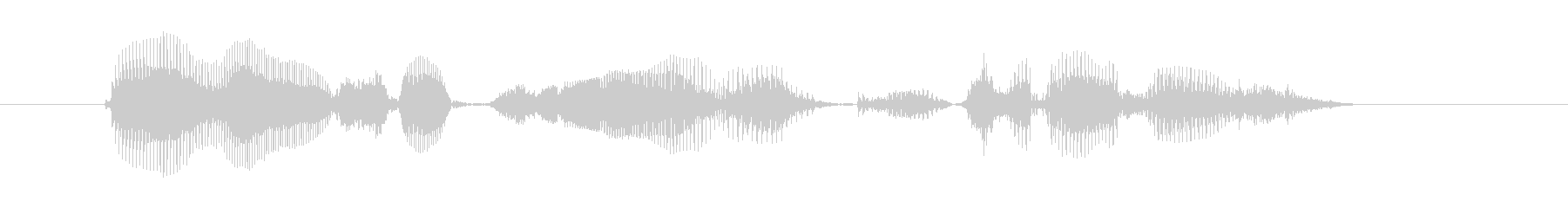 利用説明はこちらですの未再生の波形