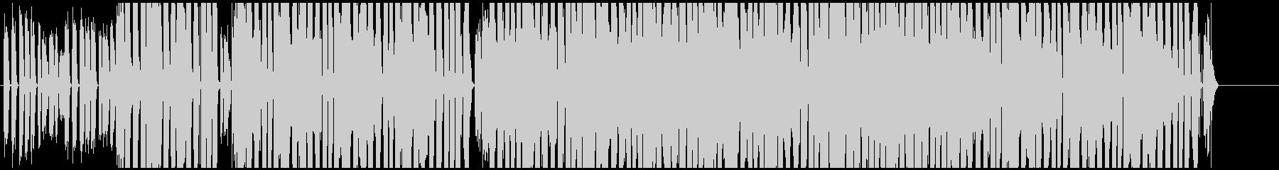 EDM 一風変わったプロモーションBGMの未再生の波形